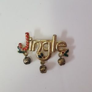 Jewelry - jingle brooch